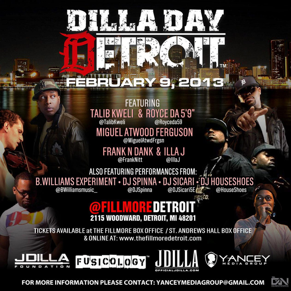 Dilla Day Detroit 2013